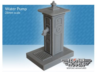 Victorian Water Pump 28mm scale