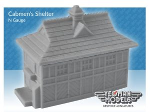 Cabmans Shelter_N Gauge_Back