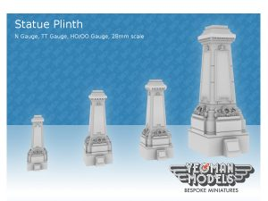 statue plinths all scales