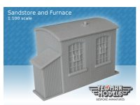 Sandstore and Furnace 1:100